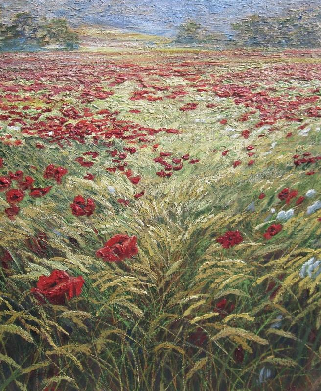 Barley and Corn Poppies