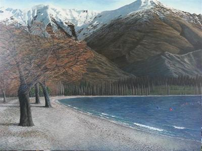 Wanaka Wind by Justin Summerton